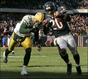 Thomas Jones was a dynamite back for the Bears from 2004 to 2006.